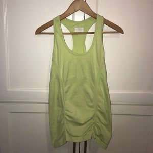 Athleta Lime Green Speedlight Tank Top Size M